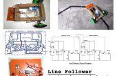 Plus simple Robot suiveur de ligne
