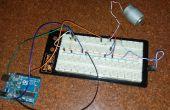 À l'aide d'une sonde de température pour contrôler la vitesse d'un moteur à l'aide d'arduino