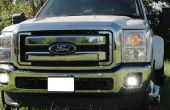 Installer iJDMTOY Ford F250 F350 LED antibrouillard
