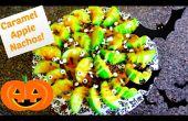 Nachos de pomme au caramel ! Recette d'Halloween !