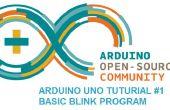 Arduino Uno tutoriel νm;1 - programme de base clin
