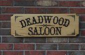 Signe de Saloon de Deadwood