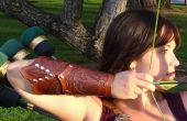 Mehndi inspiré brassards en cuir