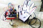 Papier, crayon, un gant de touchsensing et un robot sans fil!!