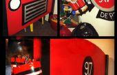 BRICOLAGE de lit camion de pompier