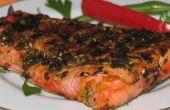 Grillé de saumon recette