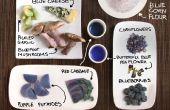 Aliments bleus ! Cuisine colorée sans colorants artificiels