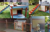 Solar éclairé toit terrasse Doghouse