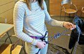 Comment nouer dans un harnais d'escalade