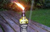 Brûleur de Jack Daniels (inspirée verre bouteille Tiki Torch de tjesse)