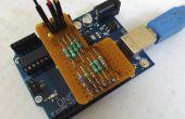 Générateur de signaux de Arduino de résistance 10