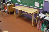 PLUS de meubles nomades : Un bureau pliant