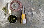 Réutiliser le tout : bouteilles en verre