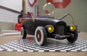 Vintage les phares et les feux arrière de voiture Derby Pinewoood