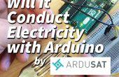 Elle sera conduite électricité ? avec Arduino
