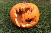 Halloween Harry Potter sculpture de citrouilles