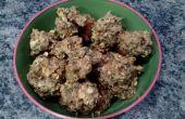 Biscuits au beurre d'arachide pour chiens