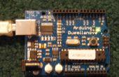 Arduino base contrôleur de servo série