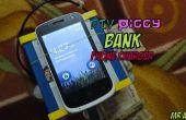 Chargeur de Smartphone Piggy Bank (qui encore économiser!)