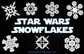 Comment faire des flocons de neige Star Wars