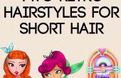 2 rétro coiffures pour cheveux courts