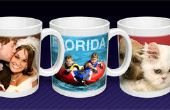 Photo Mug Sublimation thermique-processus de Production