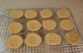 Sans gluten, produits laitiers libre, facile Peanut Butter Cookies