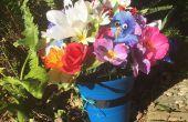 BRICOLAGE Alice au pays des merveilles fleurs