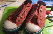 Melon d'eau chaussures