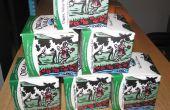 Conteneur de la boîte de lait recyclés