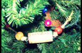 Guirlande de sapin de Noël de Liège de vin
