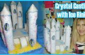 Comment faire un château de cristal avec patinoire