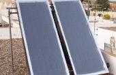 Calentador solaire casero - Fabricar calentador casero solaire de circulación forzada