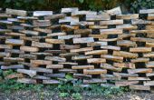 Comment construire une clôture de bois de chauffage