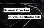 Comment faire une application c# qui transforme votre écran en une fissuré