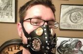Masque respiratoire de cuir