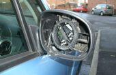 Remplacer un miroir de l'aile sur une Citroen C3 2006-2008