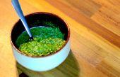 Vert Sauce persil | Comment faire | Cuisiner avec Benji