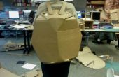 Fendue Costume tortue en carton Construction