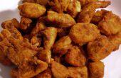 Bouchées de poulet épicées