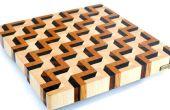 Faire une planche à découper 3D fin grain #3