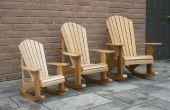 Enfant taille Adirondack Rocking-chairs