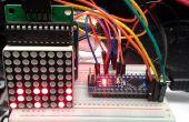 Horloge binaire Arduino à l'aide de la matrice de LED