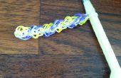 Comment faire des bracelets Rainbow à tisser ou des anneaux en utilisant le modèle triple diamant