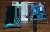 Écran LCD 16 x 2 pour ATtiny85, seulement deux tiges