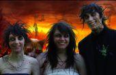 Portrait de famille Zombie (avec animal de démon)