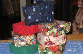 Faire des coffrets-cadeaux de tissu
