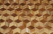 Faire un plancher de bois franc qui ressemble 3D de bonsais