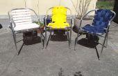 Rénover vos vieilles chaises de jardin
