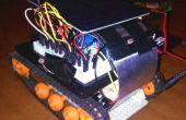 Lampe de poche solaire alimenté contrôlée robot mini-tank !